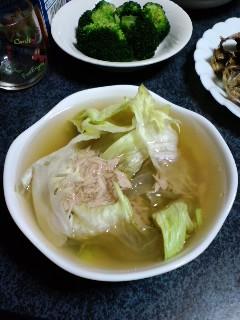 レタススープ。